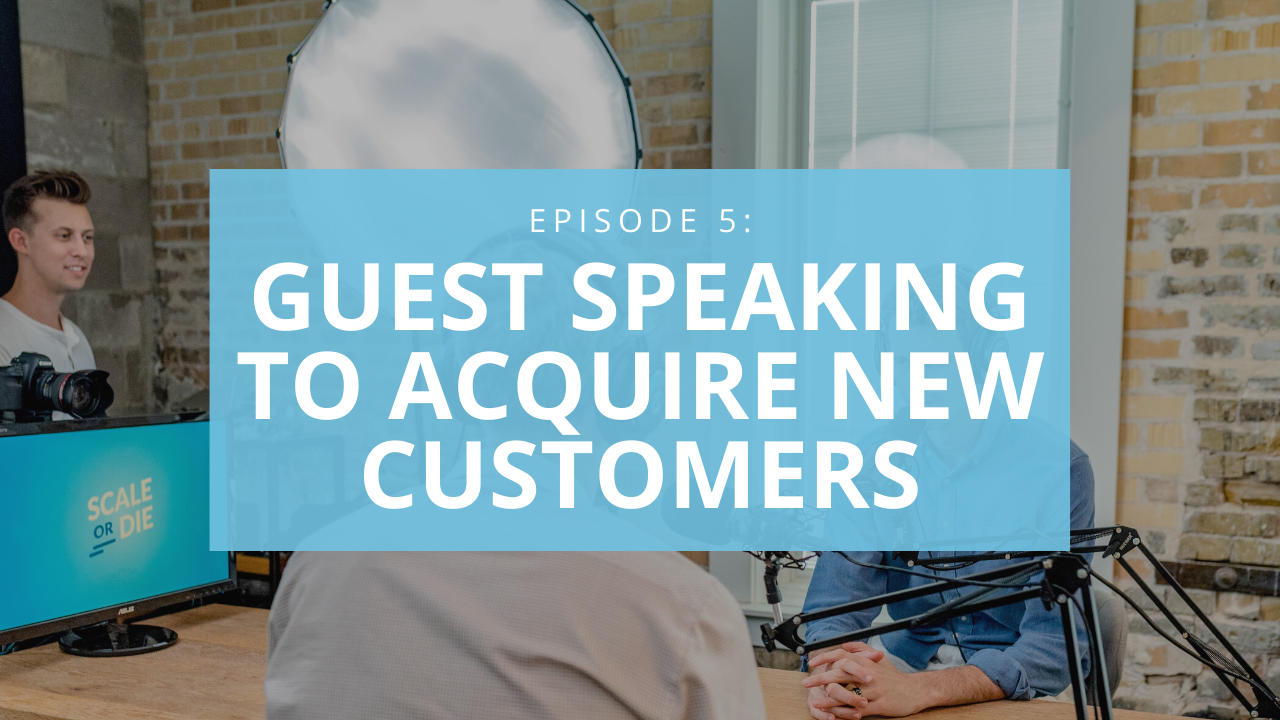 How to use guest speaking and webinars to acquire new customers