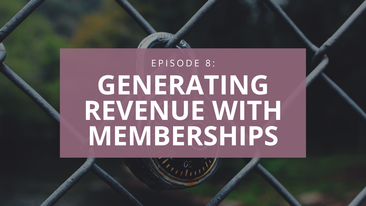 Generate recurring revenue with memberships